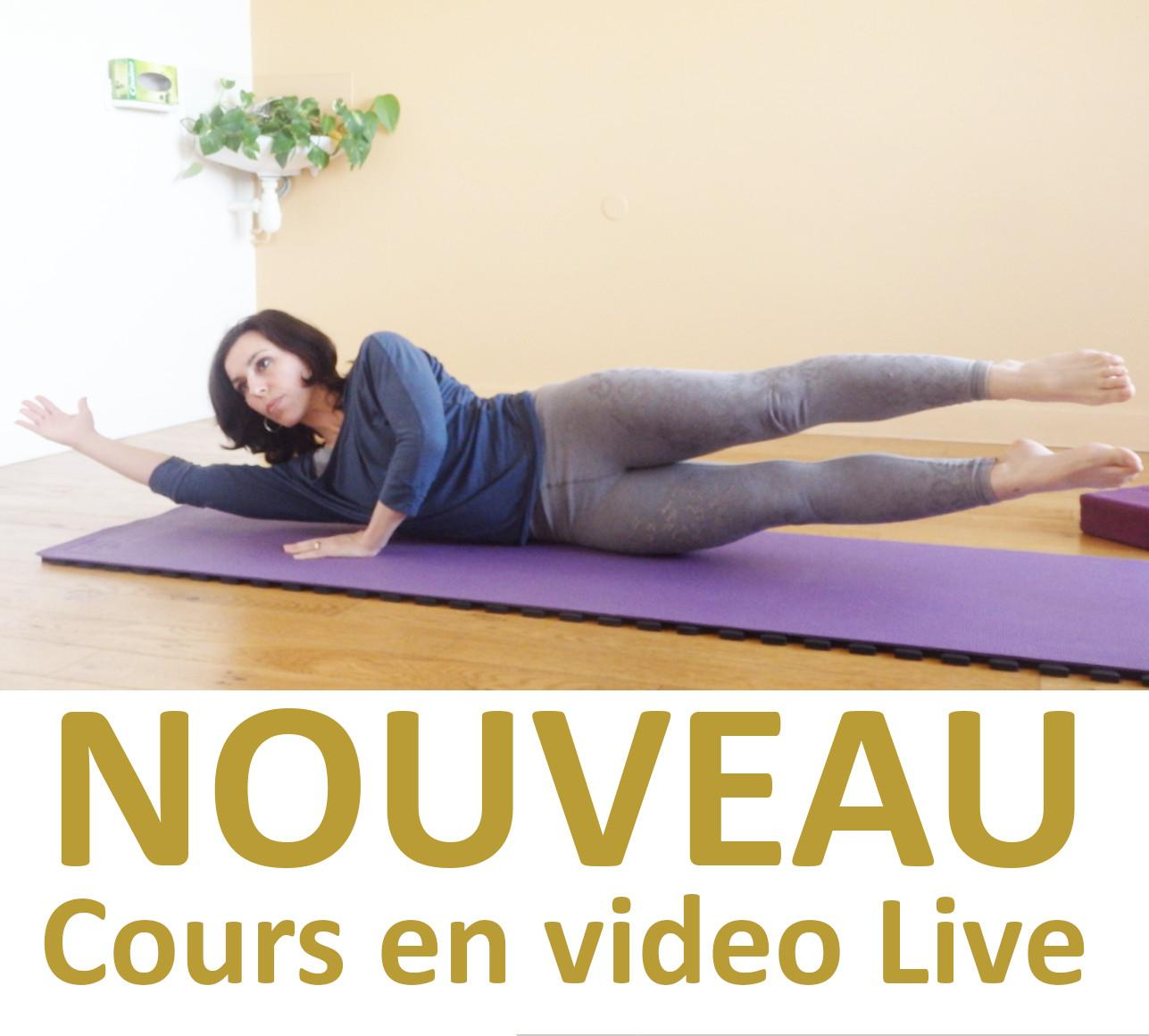 Cours Pilates Stretching en video LIVE