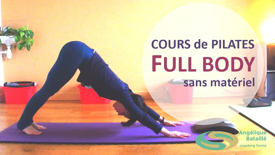 cours de Pilates toulouse - full body sans materiel