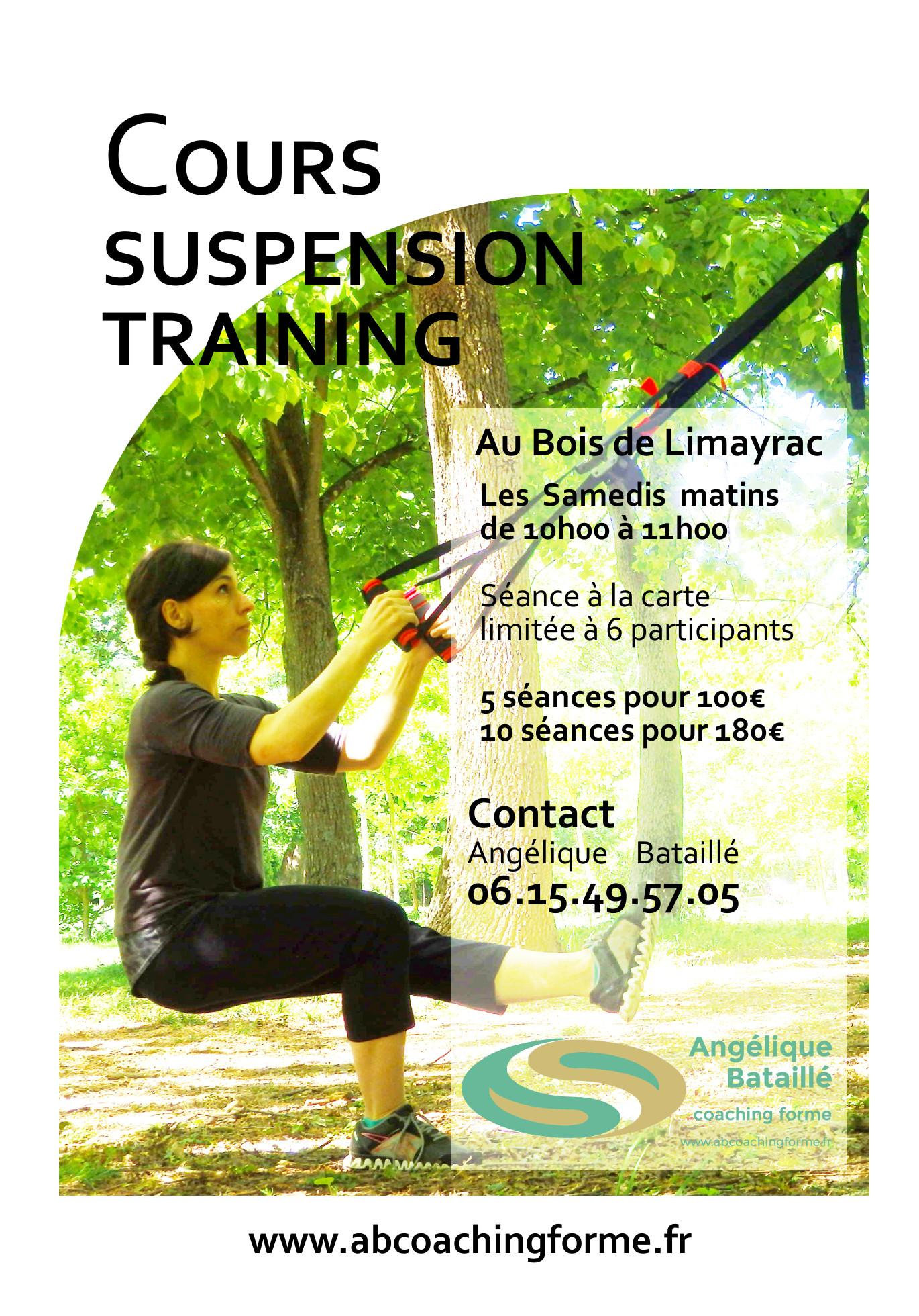 cours fitness suspension training